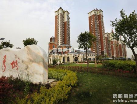 中国铁建领秀城小区图