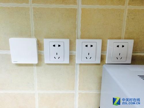 厨房预留多个电源插口