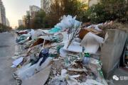 垃圾成堆,创文之下,铂金丽都小区业主年底生活质量仍旧堪忧?
