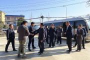 县领导夏明夫一行莅临万博城视察项目建设情况